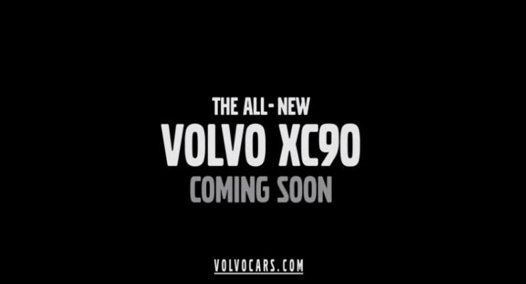 Así es el primer teaser del nuevo Volvo XC90