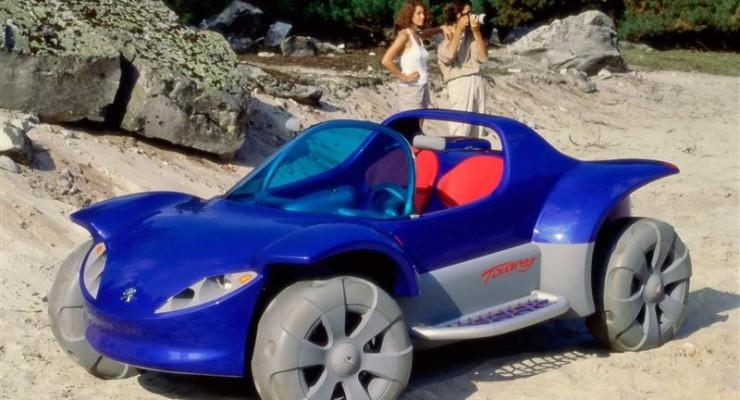 Conociendo un poco más de cerca al Peugeot Touareg Concept