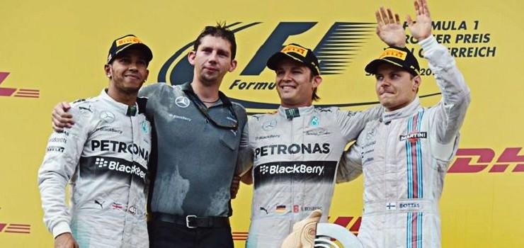 GP F1 Austria 2014: Otro color pero más Mercedes