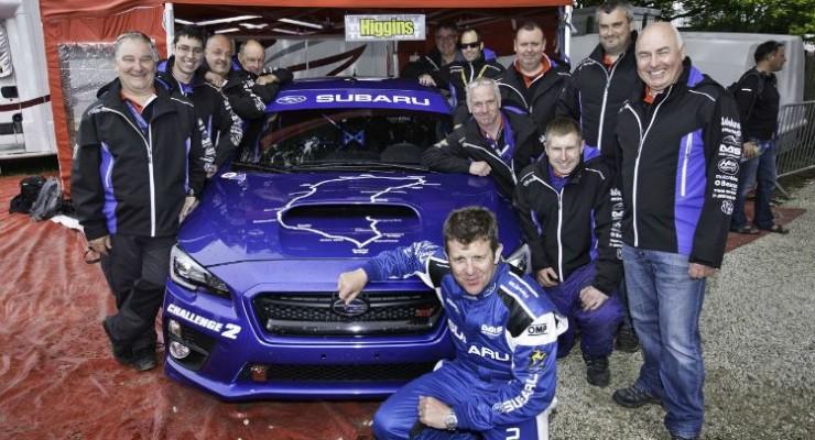 Subaru y Mark Higgins nuevo récord en la Isla de Man