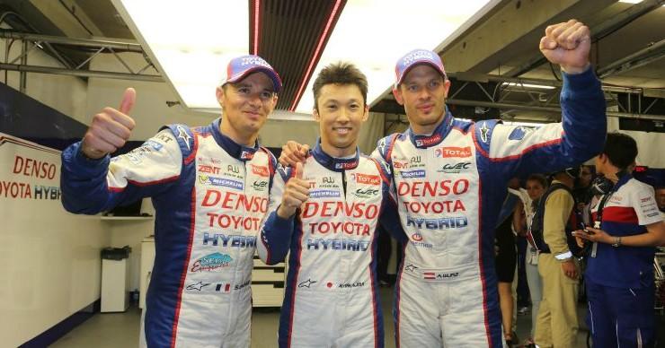 Le Mans 2014: Pole para Toyota