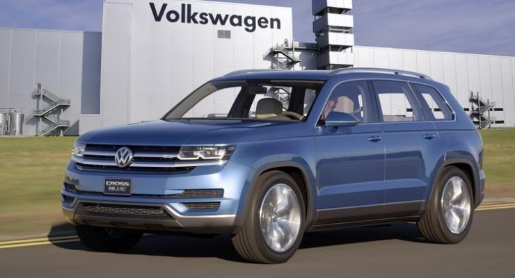 Volkswagen se prepara para un nuevo SUV