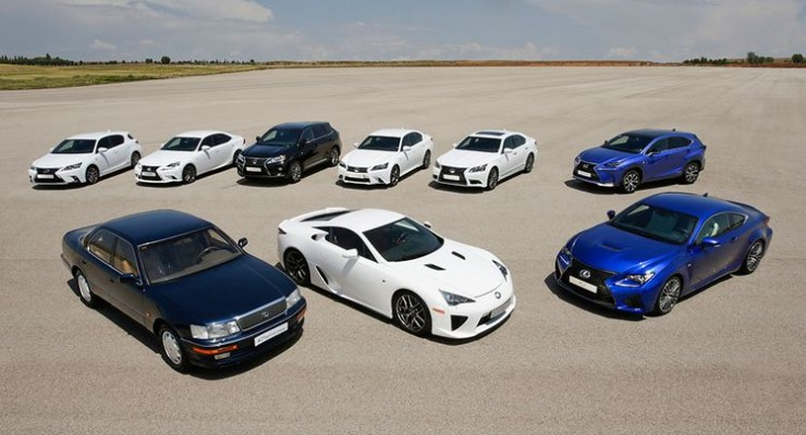 Lexus, 25 años innovando