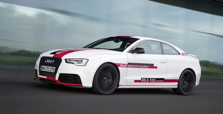 Audi sube a 48 voltios