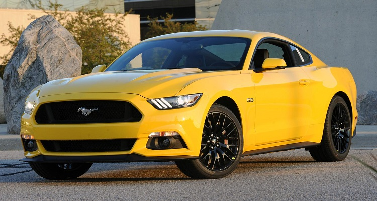 Ford Mustang 2015 5.0 Amarillo