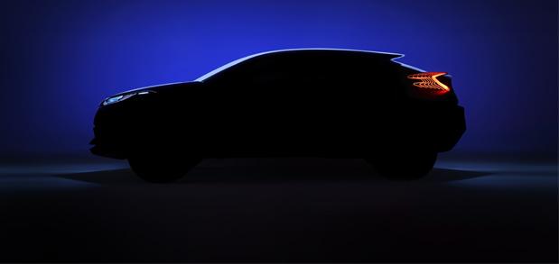 Toyota presentará un nuevo Crossover en el Salón de París