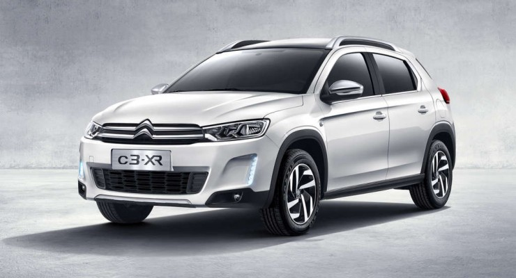 Citroën C3-XR, un crossover para China