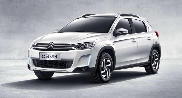 Citroën C3-XR, un crossover para China